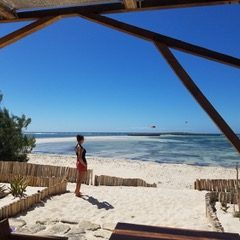 Découvrir Madagascar autrement: kitesurf en baie de Sakalava